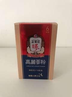 正官庄高麗蔘粉1盒