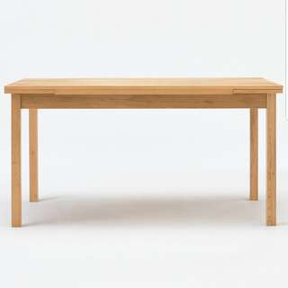 Muji oak extension table