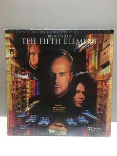 THE FIFTH ELEMENT LD 第五元素 雷射影碟