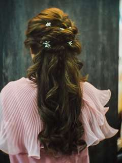 Bridal makeup & hairstyle