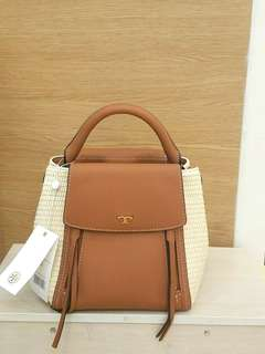 Tory Burch authentic halfmoon bag - new collection