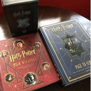Harry Potter Collections of Books and Limited Edition DVDs