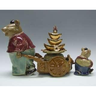 特式陶瓷擺設 - 聚寶盆