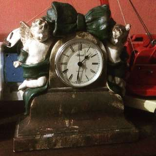 Vintage Mantel Clock Antik