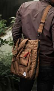 Rafheoo Tote Bag Type II Brown
