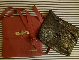 2 NEW BAGS