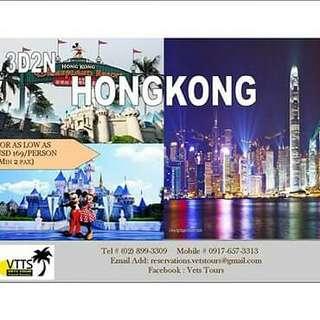 Hong kong with Disneyland