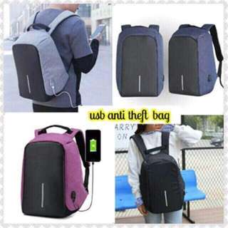 Anti theft back pack high quality