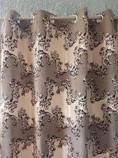 Curtains (grommet hole imported)