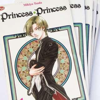 KOMIK BEKAS KOLPRI: Princess Princess 1-5 + Extra (Tamat)