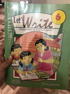 Grade 6- Lets Write: Composition Writing