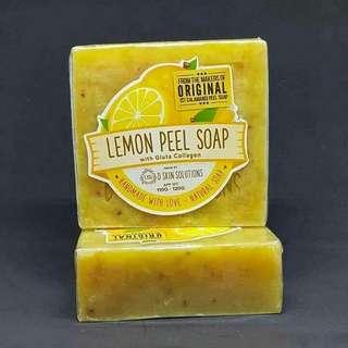 Organic Calamansi Peel Soap / Lemon Peel Soap