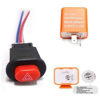 Universal Hazard Light Double Signal RS150 Y15z LC135