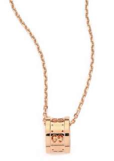 Gucci 18k Rose Gold Icon Necklace