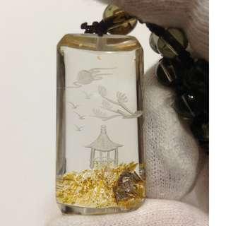 🚚 Lodolite Pendant Necklace