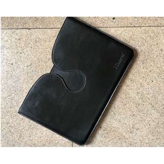 "15"" Leather Laptop Sleeve"