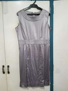 Missy grey dress XL