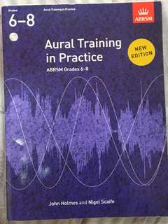 ABRSM Grade 6-8 Aural Training in Practice