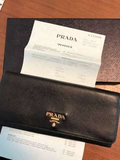 used prada purse and key holder