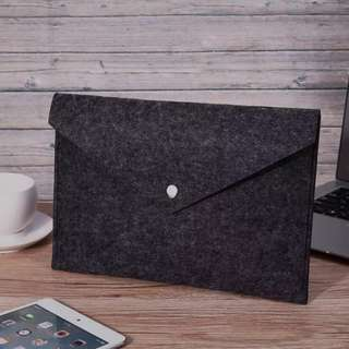 🚚 🆕B5 Felt Paper File Folder Ipad mini Liner Bag Briefcase Document Bag