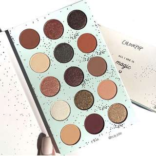 (New) ColourPop All I See is Magic Pressed Powder Shadow Palette