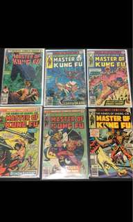 Master of Kungfu Marvel Comics Book Stan Lee Movie