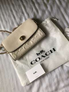 Coach Bag white crossbody from UK