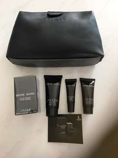 Lalique Toiletries Set by Singapore Airlines