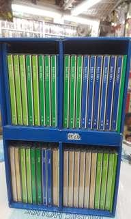 迪士尼美語世界.DISNEYS WORLD OF ENGLISH. 三十五隻cd 有全新有二手 眼見咁多.