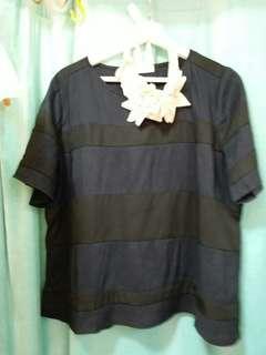 韓國恤衫黑色