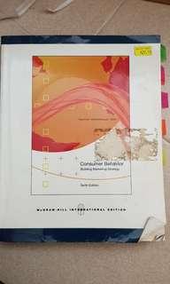 Consumer Behavior 10th edition