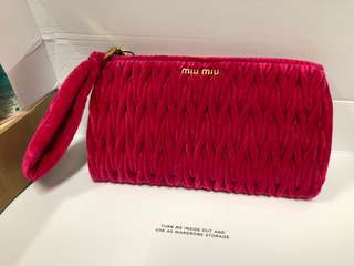 Authentic Miu Miu miumiu Clutch brand new