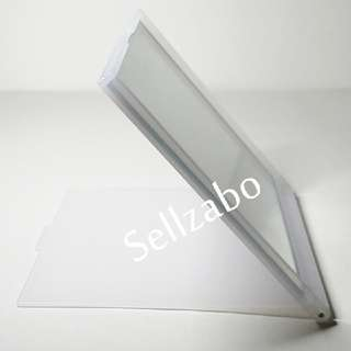 Unused Folding Mirror Sellzabo White Colour Beauty Vanity