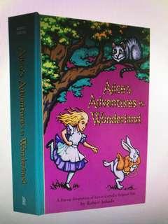 Alice's adventures in wonderland 愛麗絲夢遊仙境立體大本書
