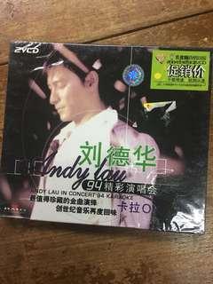Andy Lau karaoke VCD sealed copy
