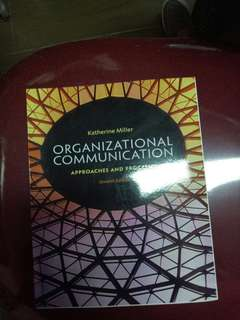 Organizational Communication Book