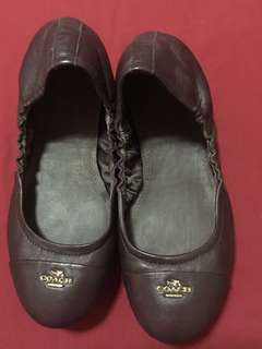 REPRICED!!! Authentic coach ballerina flats