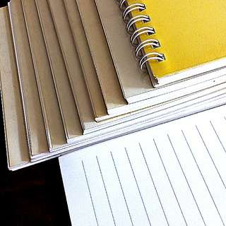 Ringed Writing Notepad (13 x 19 cm)