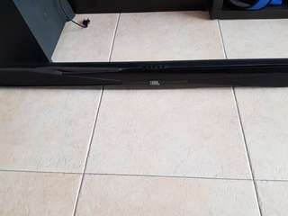 Jbl soundbar and subwoofer sb300