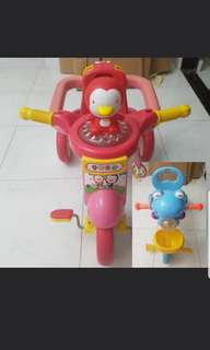 Children Toddler Tricycle Bicycle