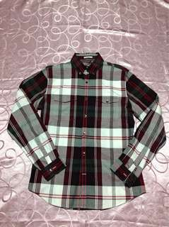 EXPRESS long sleeve polo/formal shirt for men