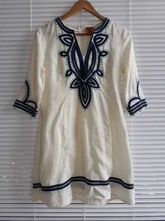 Authentic Tory Burch Linen Tunic Dress