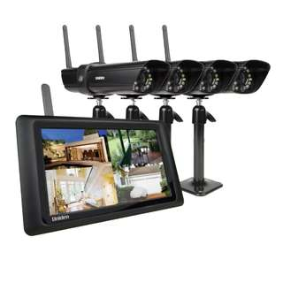 CCTV - UNIDEN GUARDIAN G2940 DIGITAL WIRELESS SURVEILLANCE SYSTEM 24/7 SECURITY - EX DISPLAY UNIT