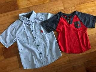 US Polo Assn Polo and Shirt Bundle