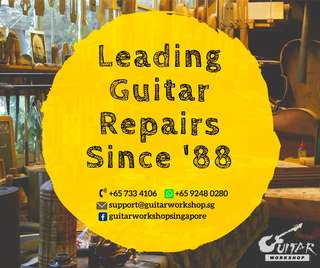 Guitar Workshop- Repair/Service/Restring/Customization/Restoration/Refinishing.