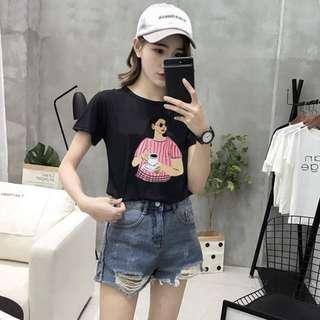Korean Tee / T-Shirt