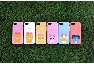 Kakao friends Ryan Apeach iPhone Case