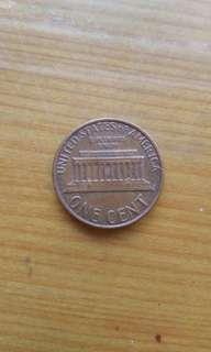🚚 1979年1美分正品