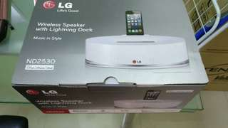 LG Speaker for iPhone 8 and above