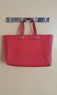 OROTON Red Leather HandBag